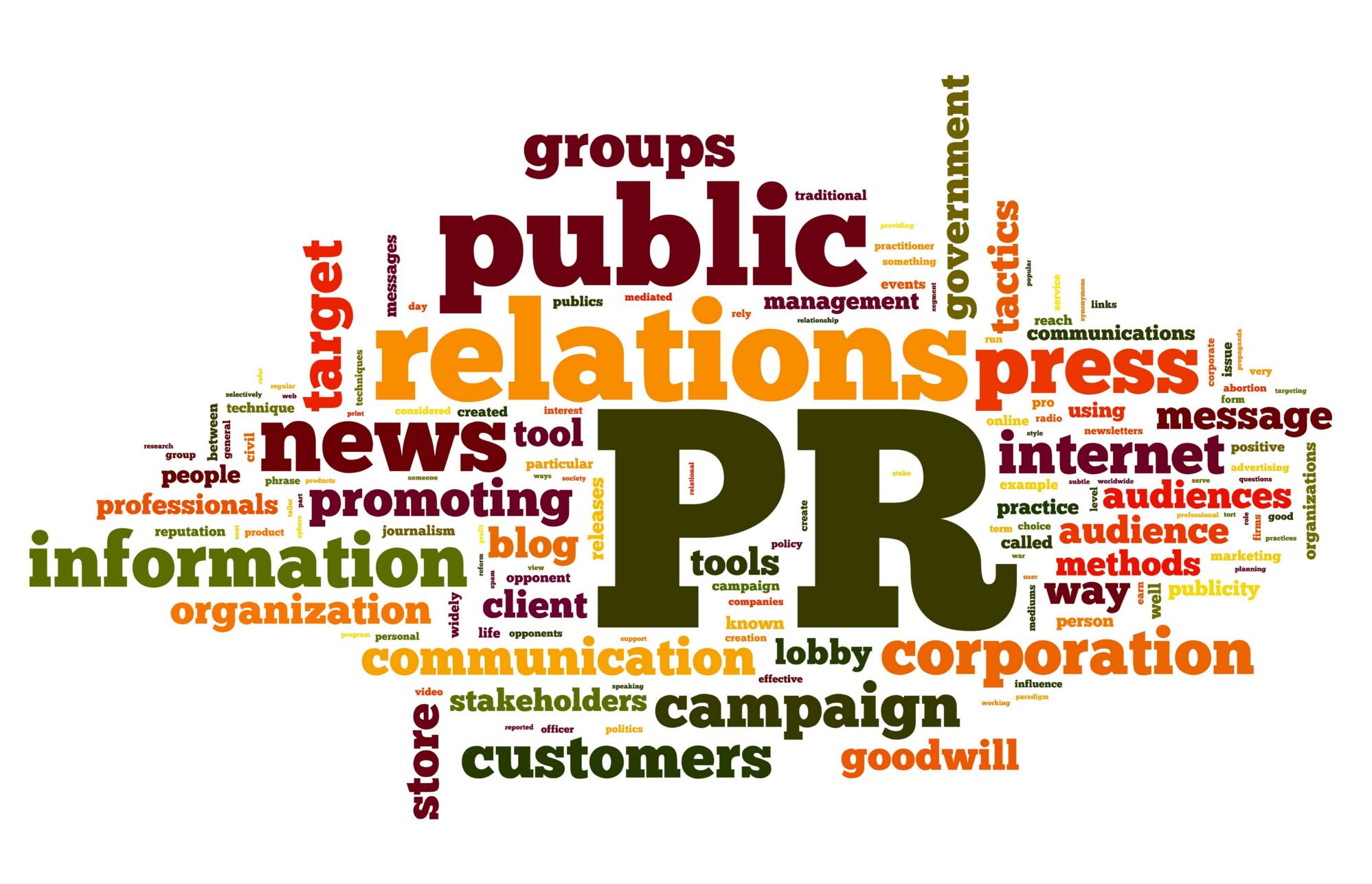 PR, Public Relations